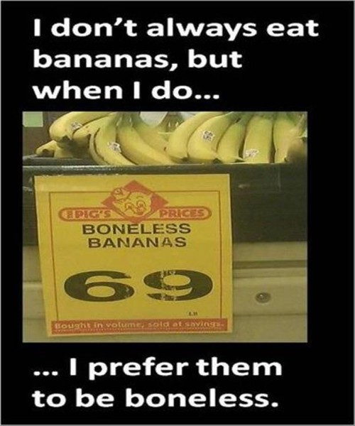 teamsocialpie:  Are Those Boneless Bananas? View Post