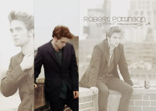 Made by Anastasia Vasilyeva for ROBERT PATTINSON (OCVK)