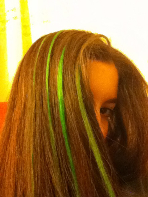My green hair :))