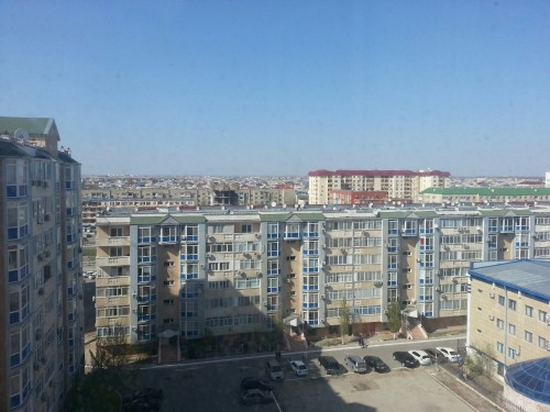 Atyrau from the apartment we're staying in, long few days ahead whilst we sort eveything out for our walk through kazakhstan, people are increasingly mentioning wolves…