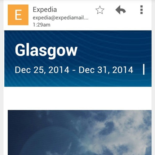 Guess that's a thing now #Glasgow