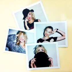 Strike a pose. (at Nasty Gal Studios)