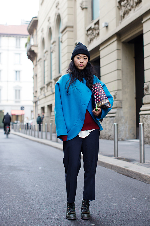 Street style by The Sartorialist