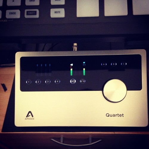 recent upgrade - Apogee Quartet
