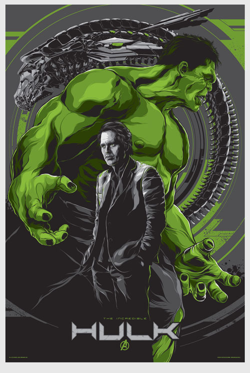 Awesome Mondo HULK poster from THE AVENGERS