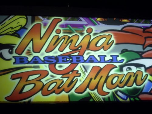 amnesiacr:  clintisiceman:  Galloping Ghost got a Ninja Baseball Bat Man cabinet so I finally got to play that. It's really fun!  DUDE. That is amazing.  I can't recommend Galloping Ghost enough to people in the Chicago area. $15 to get in but all of the games are free to play so you can just stay until you get bored instead of staying until you run out of money. And they stay open until 2:00 AM every night, so you can really get a lot for your money. I like to go there once a year for like a 6+ hour marathon until I'm totally worn out. The guy who owns it makes a point of tracking down rare arcade cabinets, and all of their staff are trained to be able to modify and actually repair them, so it's not like other arcades where a third of the machines are just broken all the time. Oh and all of the cabinets have Twin Galaxies' official high score records pinned to the top. They also have a SegaSonic the Hedgehog, which is now probably the rarest game I've ever played. It predates Sonic 2 and features a character named Ray the Squirrel, who never appeared again and was apparently the original design for Sonic before it was decided he should be a hedgehog.