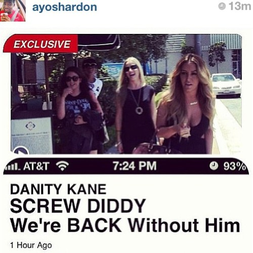 THE BEST NEWS I'VE HEARD!!!! I LOVED DANITY KANE.  (at Academic Information Resource Center)