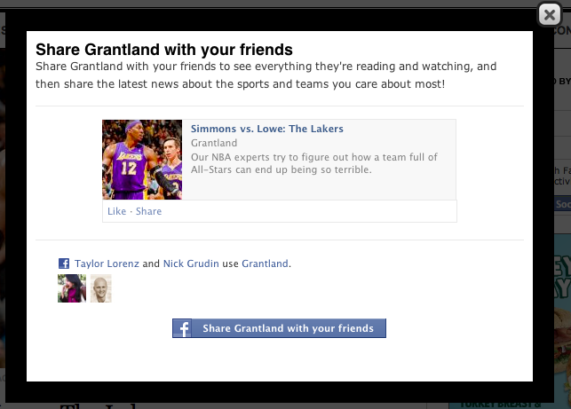 Honestly, Grantland, you demand I do this every single time I visit, and I'm just not gonna cave.