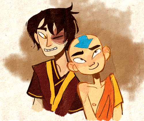 wecansexy:  finished atla today and wow these two are still my favorites wow  forever show :')