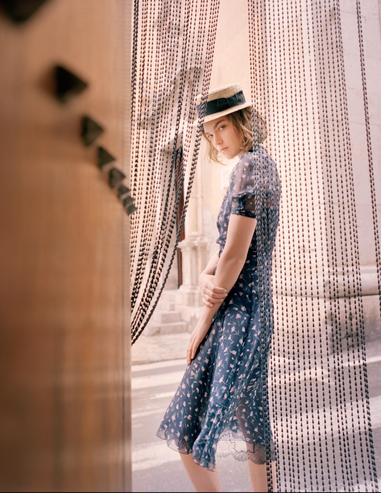 timeless-couture:  Girl-Bud Arizona Muse photographed by Tom Craig for Vogue Russia May 2013