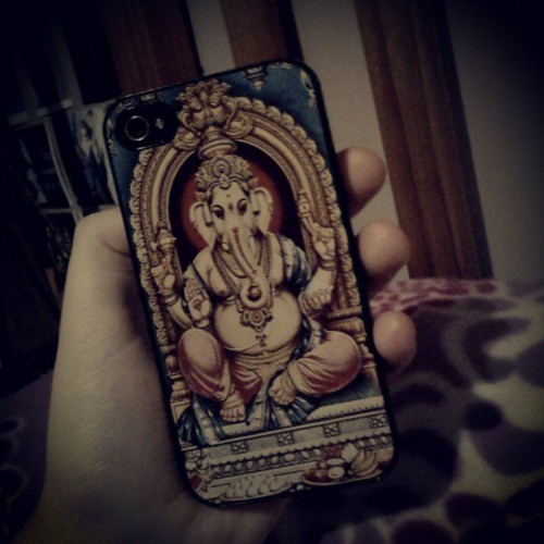 #ganesha #elephantgod #iphone mean. @princesswebster