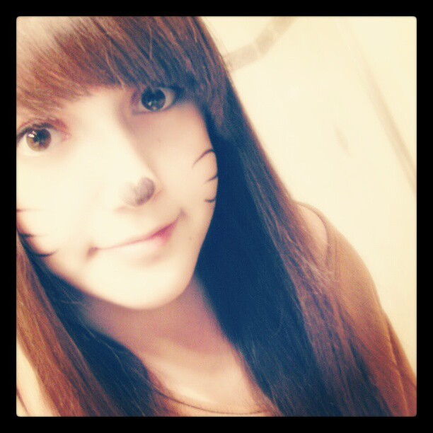 #me as #kitty . #meow #cute #girl #ulzzang #uljjang  #ulzzangmakeup #look #like a #cat