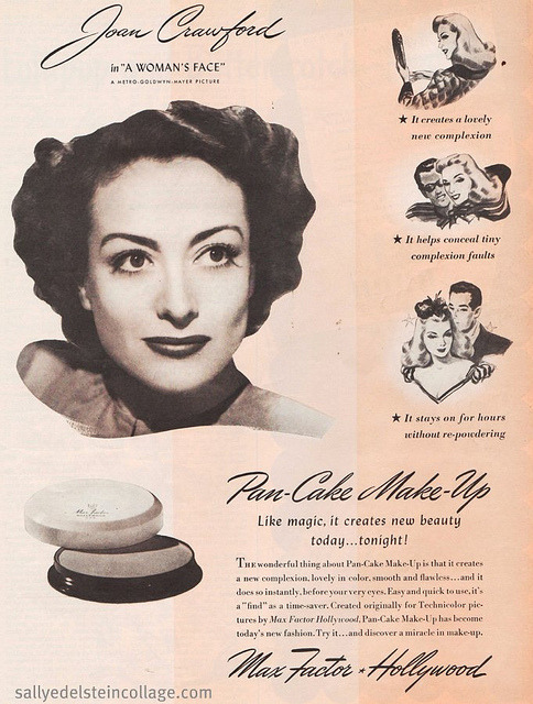retro-girl811:  Joan Crawford For Max Factor