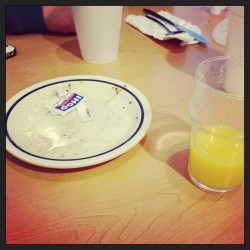 Oh the aftermath. #ihop