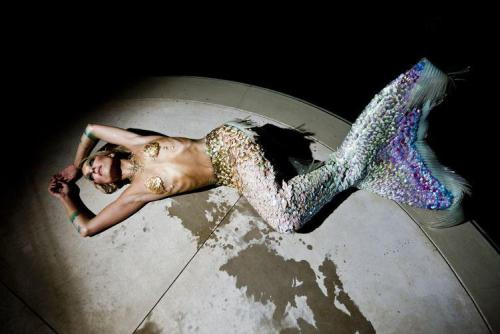 Hannah Mermaid for Ladygunn Magazine.