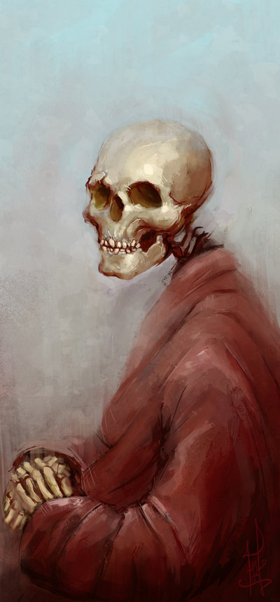 Death wears a cosy red robe - Marcus Lindgren
