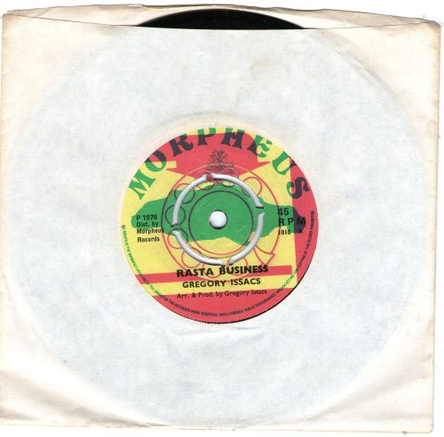 Rasta Business / Gregory Isaacs / UK issue