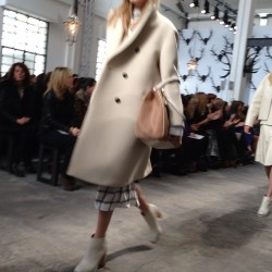 Great coats from @umit_benan at @trussardi. #mfw NP