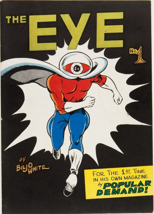 mudwerks:  (via The Eye #1 (White House of Comics, 1965) Condition: FN …. Silver | Lot #12172 | Heritage Auctions)