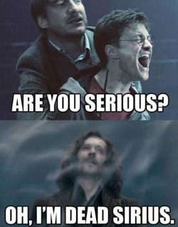 thepotterof-harry:  Dead serious