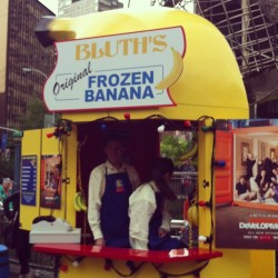 Bluth's Frozen Banana. Only in #nyc.