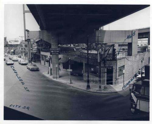 Chelsea Street, Charlestown, July 28 1972, Charlestown Urban Renewal photographs, City of Boston Archives.  This work is free of known copyright restrictions.  Please attribute to City of Boston Archives.