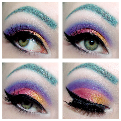 kaykittennnn:  Eyeshadow look using Shiro Cosmetics! I love their loose eyeshadows, they are AMAZING! So check them out ;D shirocosmetics.com