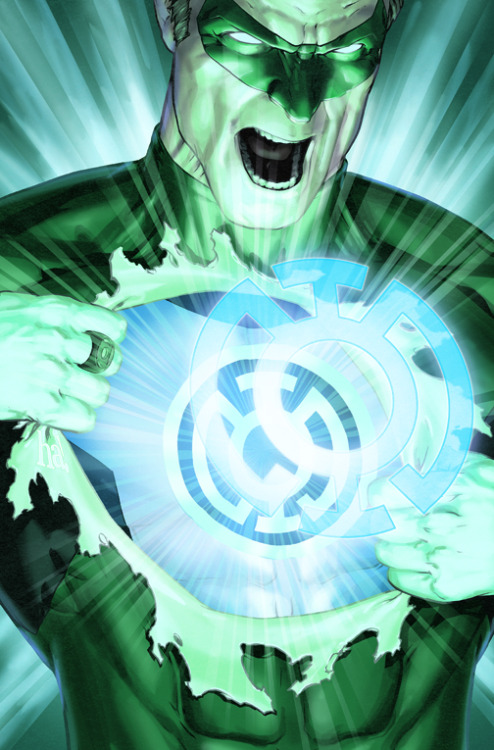 "comicskingdom:  Green LanternIssue #58 ""Hope Burns Bright""Released: December, 2010Art By: Gene HaWritten By: Geoff Johns"