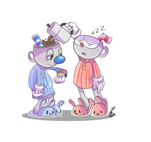 cuphead cuphead in don& 039;t deal with the devil cuphead and mugman Mugman and Cuphead mynnubart mynnubpost