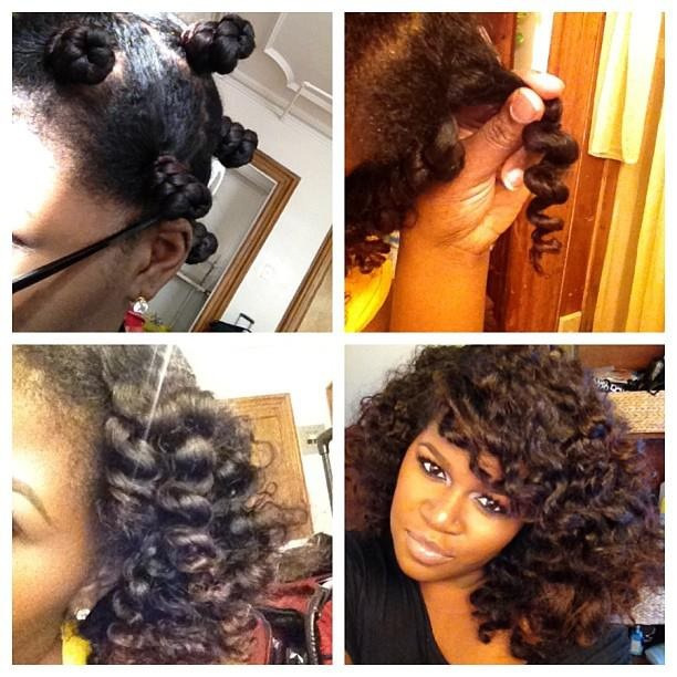 africanhair:  Bantu Knots