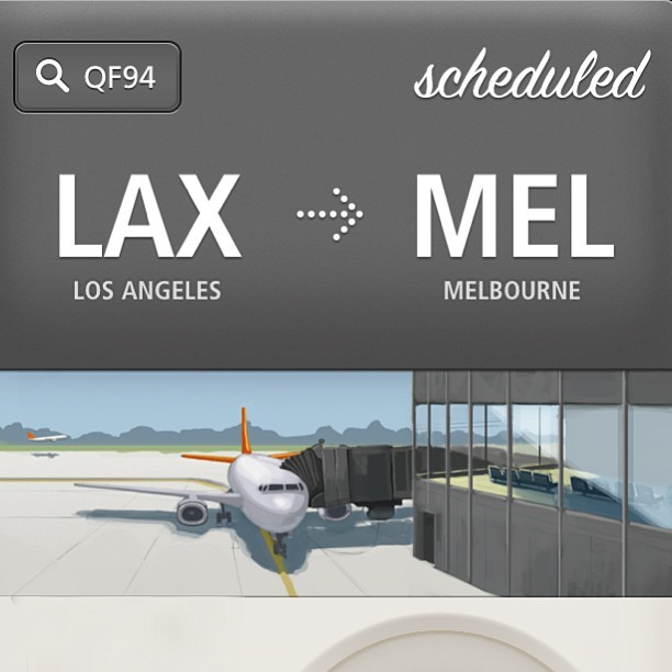 LAX »> MEL Here we go. #vscocam #melbourne #Australia #travel (at Los Angeles International Airport (LAX))