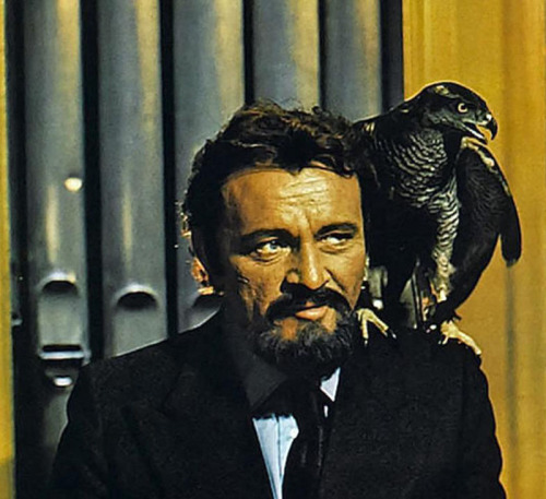 "sala66:  Richard Burton en ""Barba Azul"", 1972"