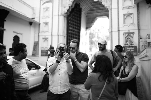 BG Creative Director Aidan & team on location in Jaipur. Coming Soon: March Magazine