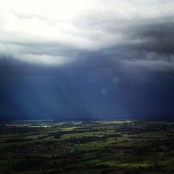 #thunderstorm #rain #landscape #nature #flight