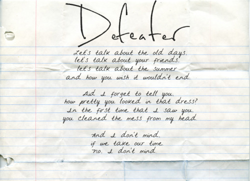 I Don't Mind | Defeater