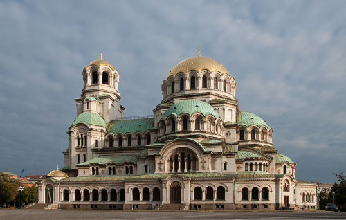 I want to go to Bulgaria so badly so I can visit this place.  Nevski Church - Sofia, Bulgaria