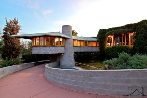 Frank Lloyd Wright House in Phoenix Sold Again to New Anonymous Buyer  The David Wright house has been saved!