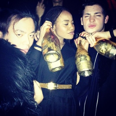 GOLD BLIZZARD by kimntsimi #aceofspades #champers