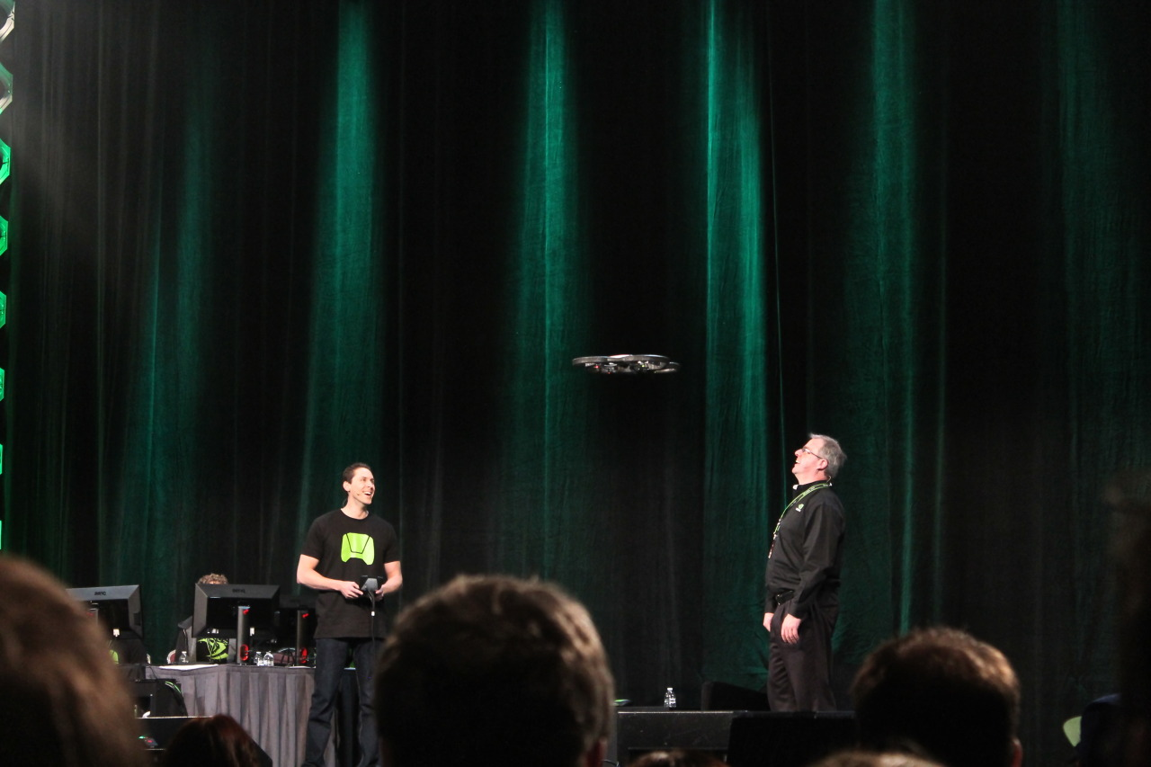 NVIDIA panel: NVIDIA makes flying things?
