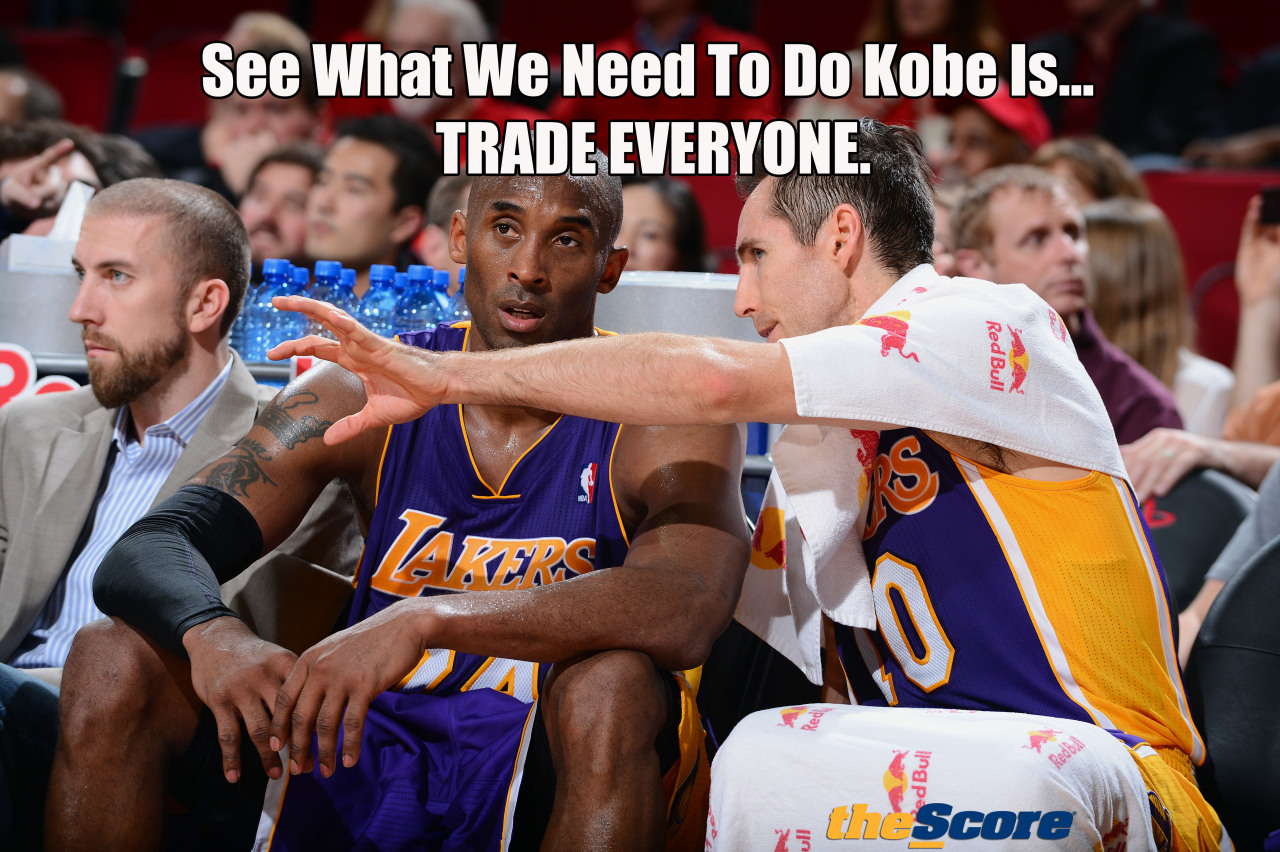Pic: See what we need to do Kobe is…