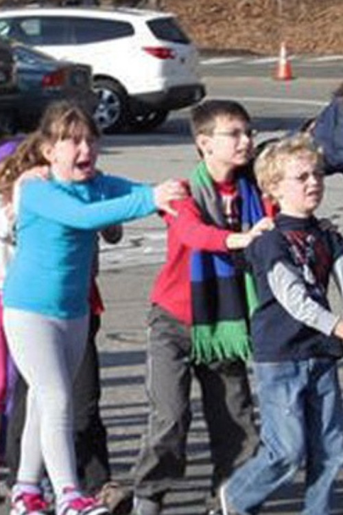 I say this again: Children did not deserve this, no one deserved this, there are 14 dead children right now at the school in Connecticut.. At least.