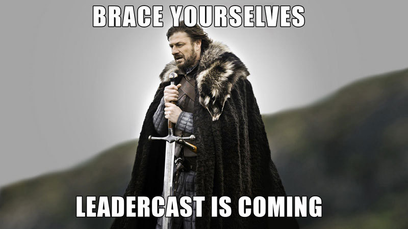 Don't forget to sign up! www.utleadercast.eventbrite.com