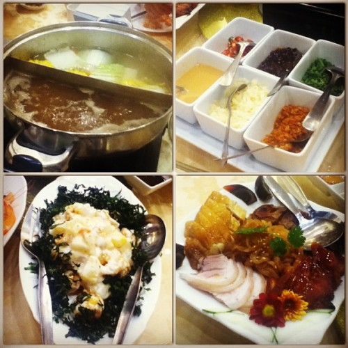 04.08.13 shabu shabu dinner at Tao Yuan for papa's 53rd birthday. :)
