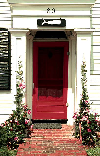prepologist:  Red Door