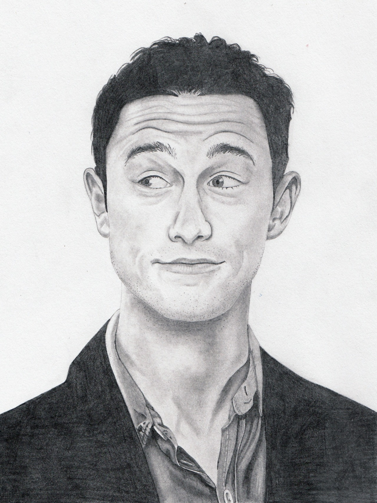 Joseph Gordon-Levitt sketch sold at the Culture Shock exhibit earlier this month