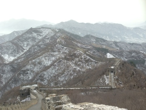 Today's mission. with Corey at Mutianyu  – View on Path.
