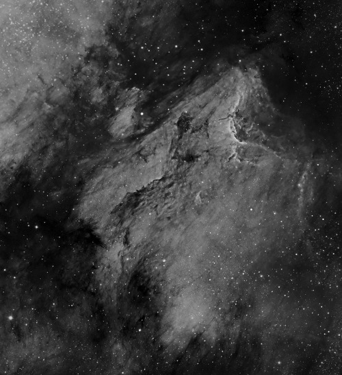IC5070 - Ha - crop from mosaic (by Anna (www.eprisephoto.com))