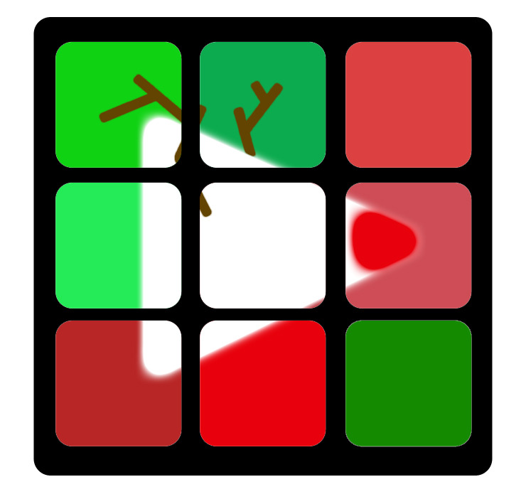 bigframeco:  Our Big Frame holiday logo is in the spirit! Created by an awesome fan and fellow YouTuber Steven Kane. Check out his channel and show some love, follow him on Twitter @ivoicesteven.  Great honor to help out! :)