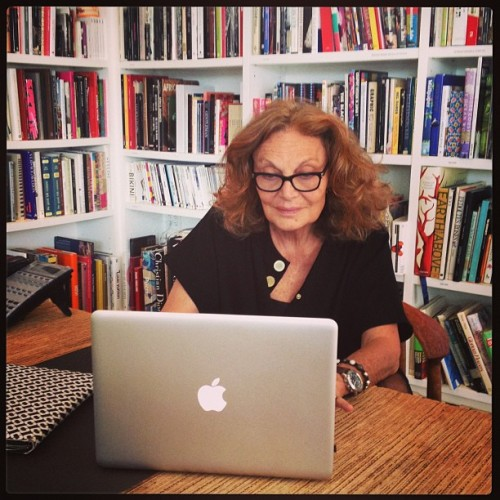 Just wrapped @DVF & @InStyle Facebook Q&A! #dvf #fashion #facebook #nyc  (at Diane von Furstenberg Studio, L.P.)
