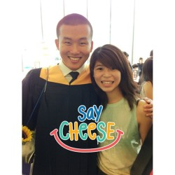 Yay to the guy who changed my entire poly life, you graduated!! 🙆🙆